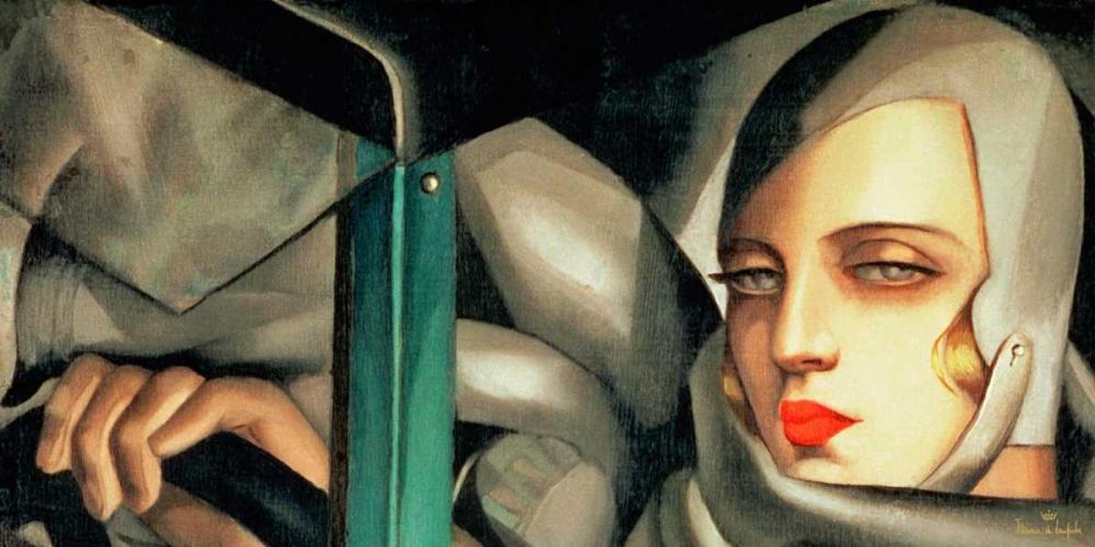 Autoportrait de Lempicka, Tamara 43330