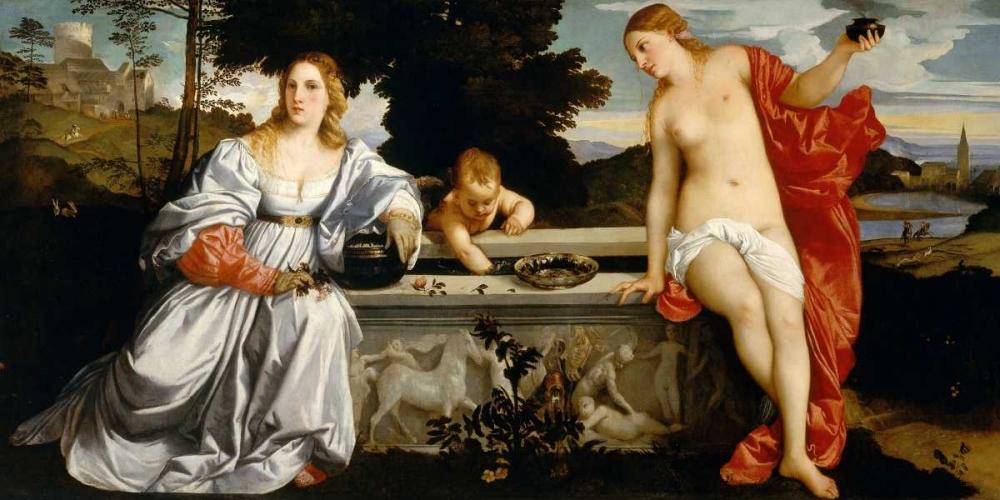 Amor Sacro e Amor Profano Tiziano 162937