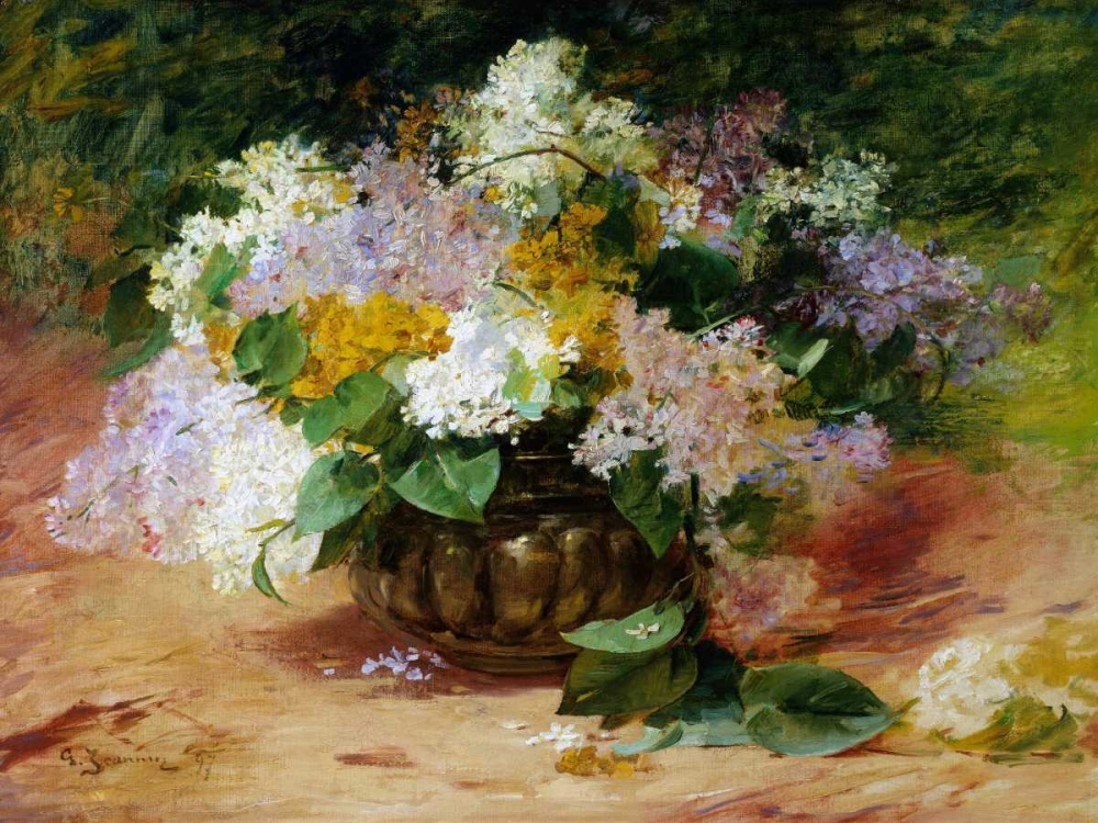 A Still Life of Lilacs Jeannin, Georges 44045