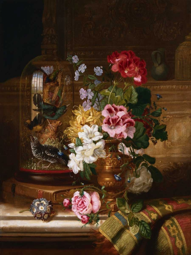 A Vase of Assorted Flowers Wainwright, William John 44046
