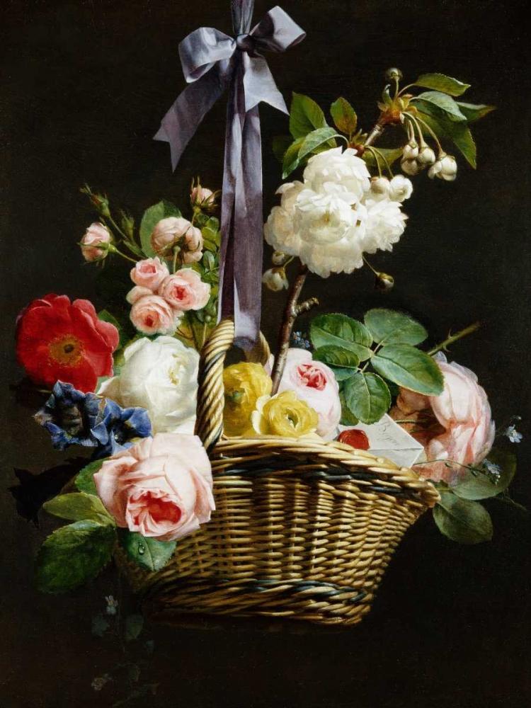 A Romantic Basket of Flowers Berjon, Antoine 162754