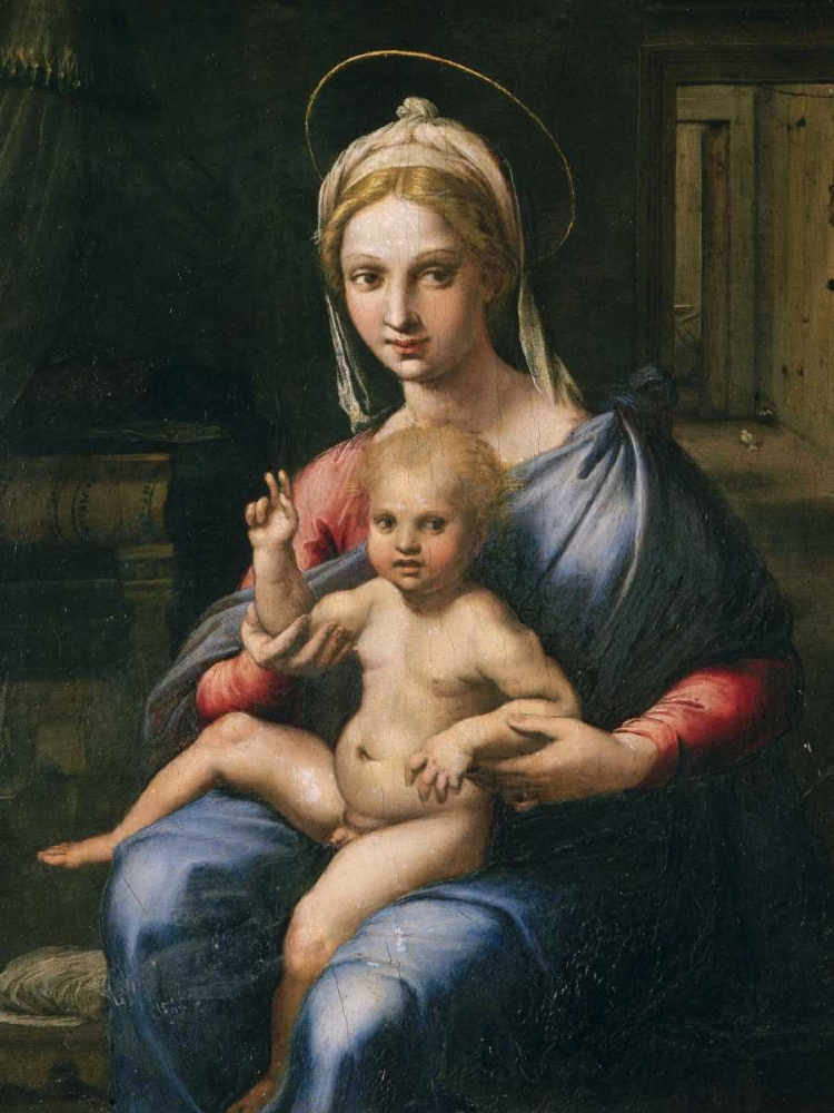 Vergine e Bambino Giulio Romano 162809