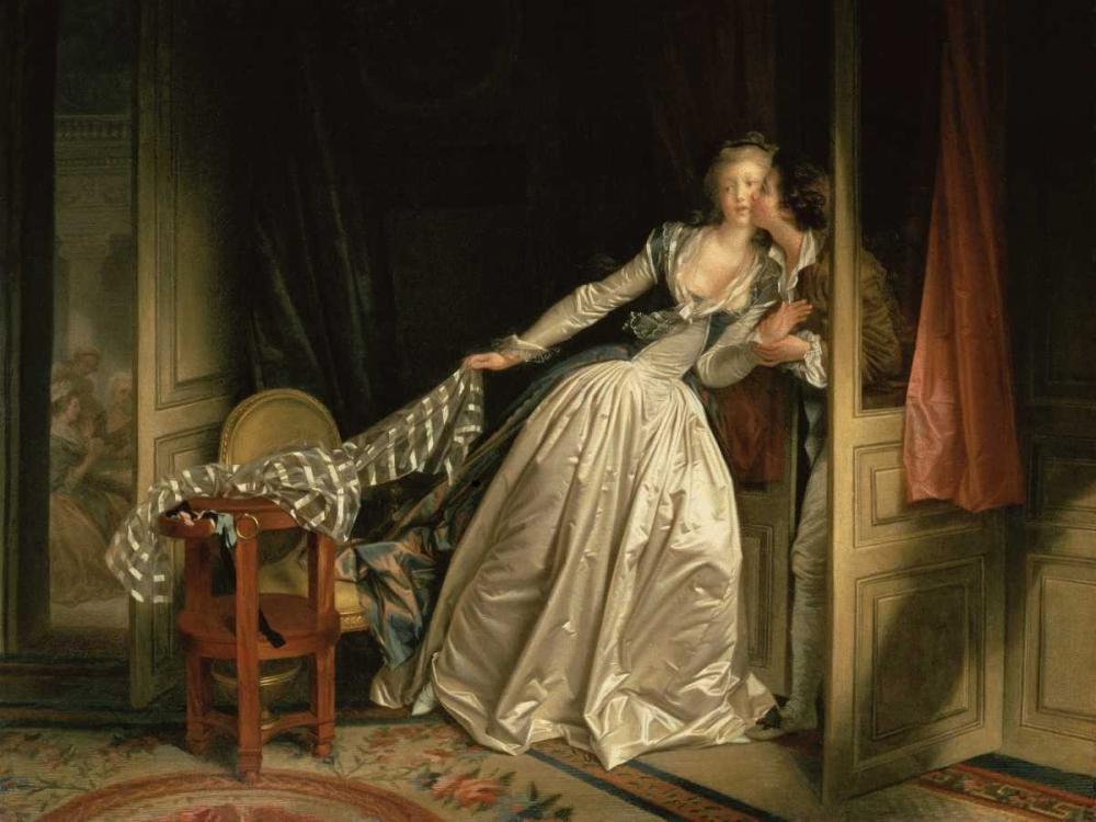 The Stolen Kiss Fragonard, Jean-Honore 44325