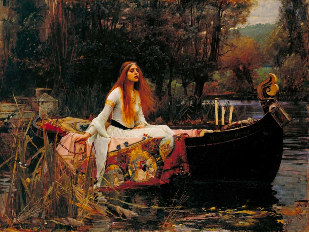 The Lady of Shalott Waterhouse, John William 44089