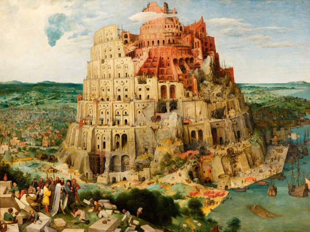The Tower of Babel Bruegel the Elder, Pieter 162766