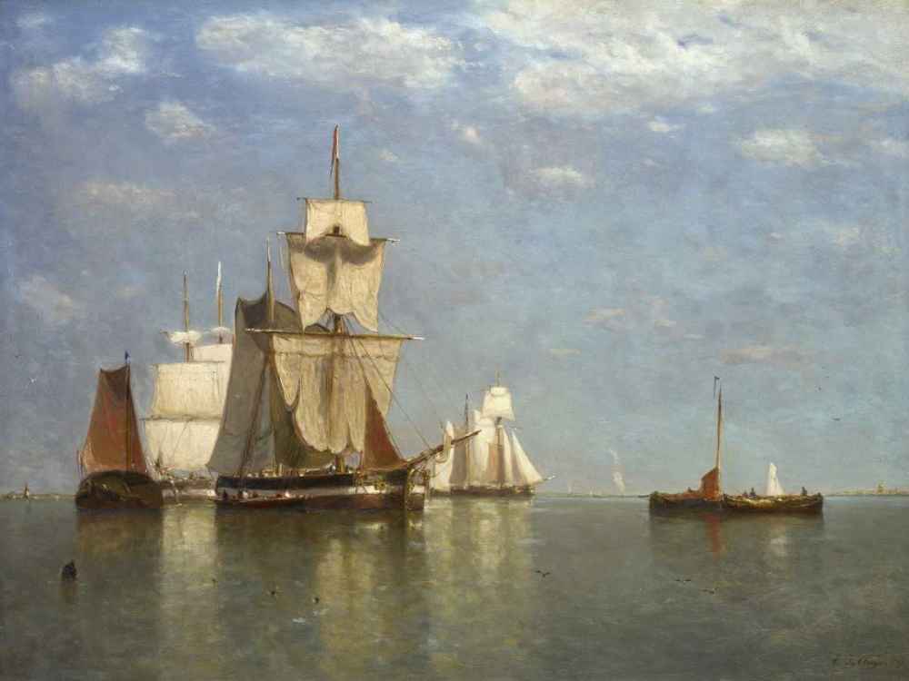 Ships lying off flushing Clays, Paul Jean 162776