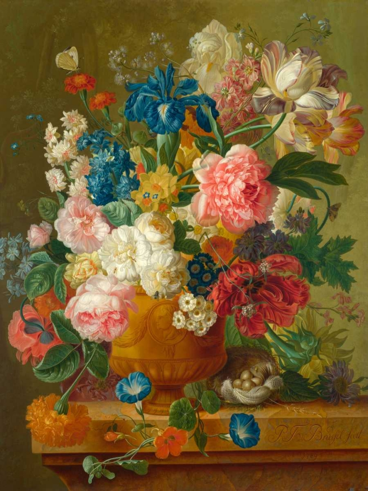 Flowers in a vase Bosschaert the Elder, Ambrosius 162761