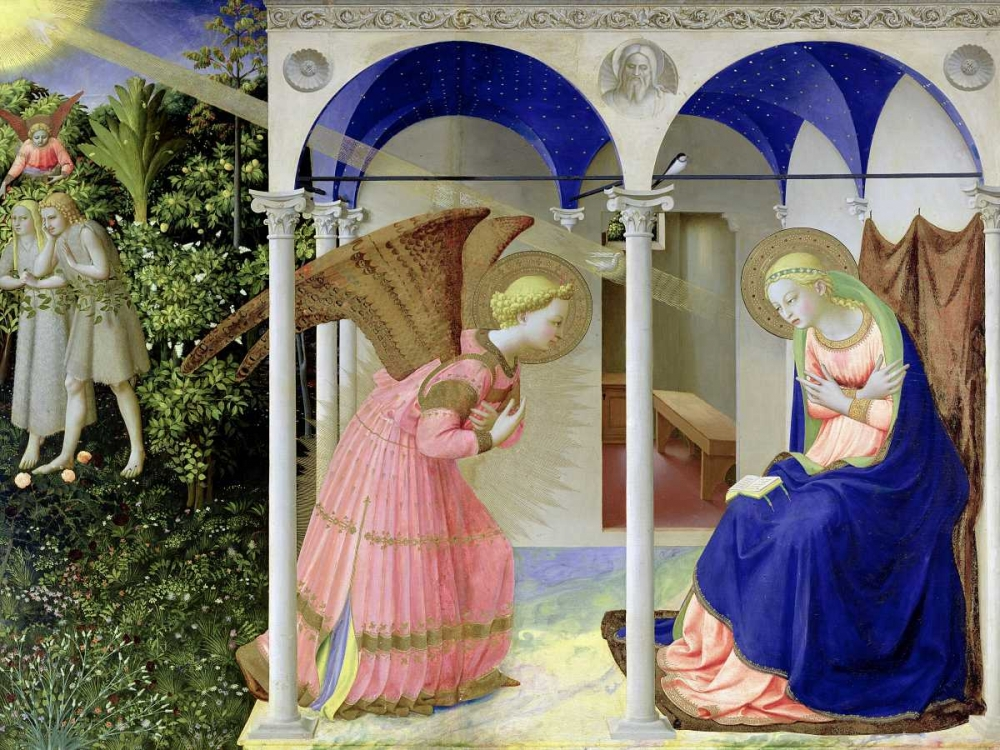 The Annunciation Beato Angelico 162752