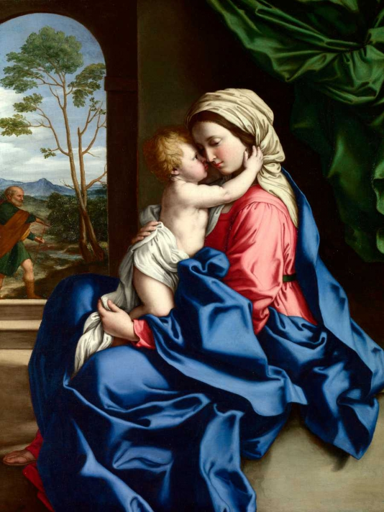 The Virgin and Child embracing Sassoferrato 162918