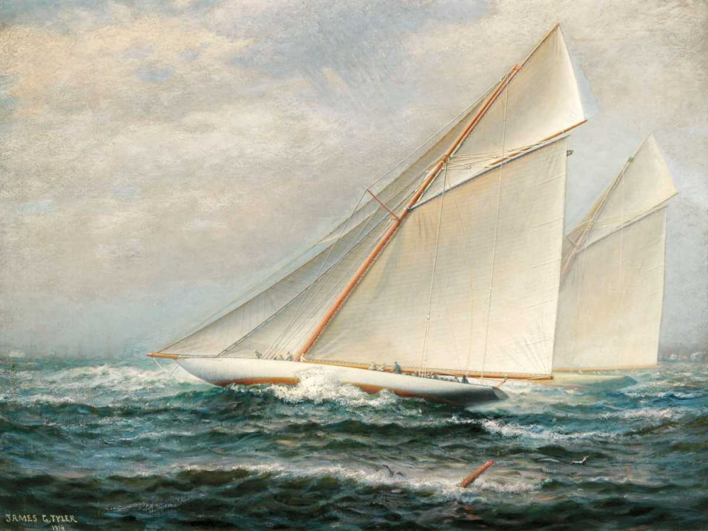 Americas Cup Racing Tyler, James Gale 117994