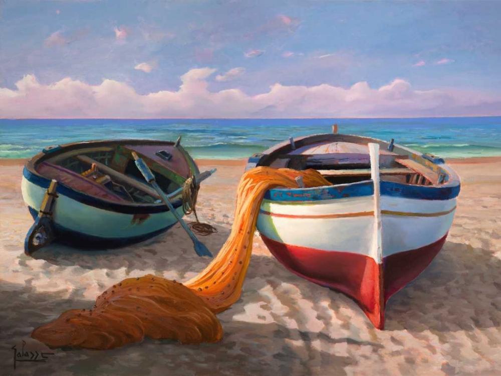 Barche sulla spiaggia Galasso, Adriano 43527