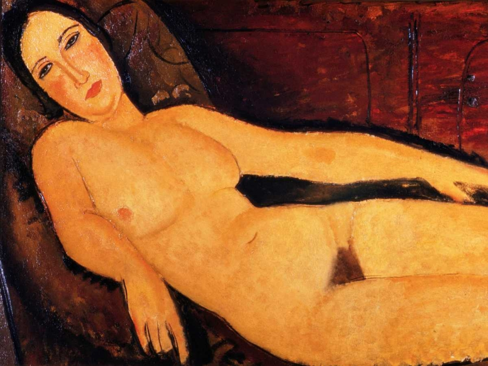 Nude on a Divan Modigliani, Amedeo 162870