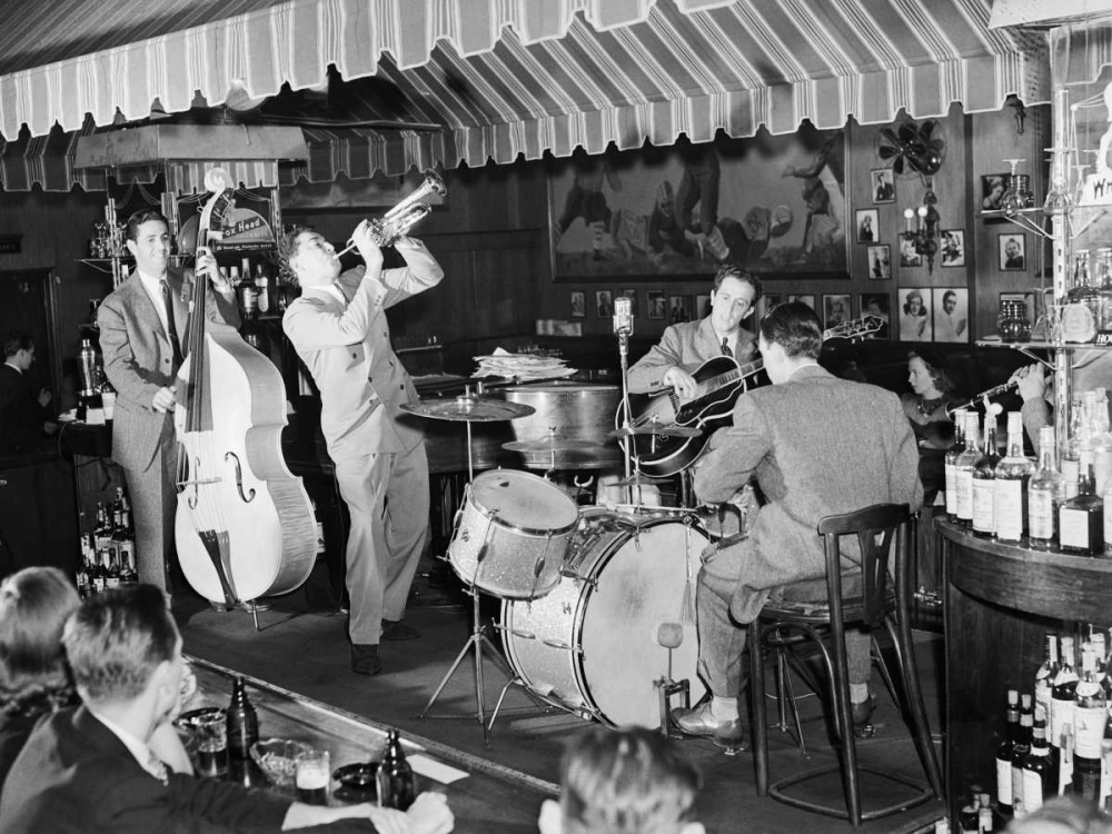 Swing Band Performing at Hickory House NYC Anonymous 43647