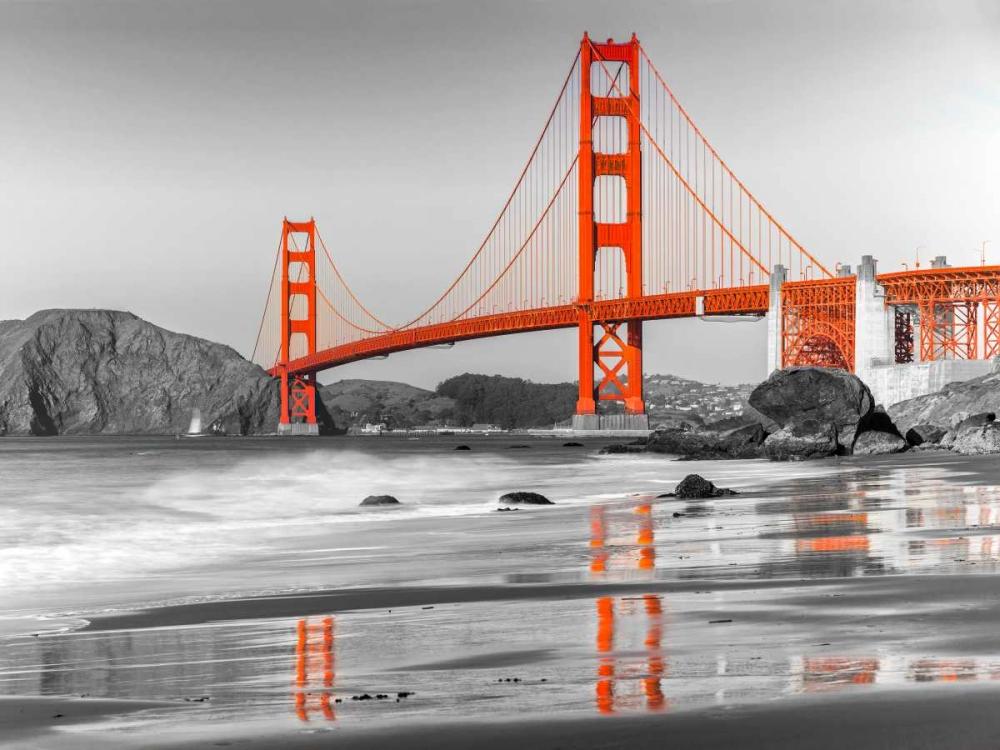 Baker beach and Golden Gate Bridge, San Francisco Anonymous 118049