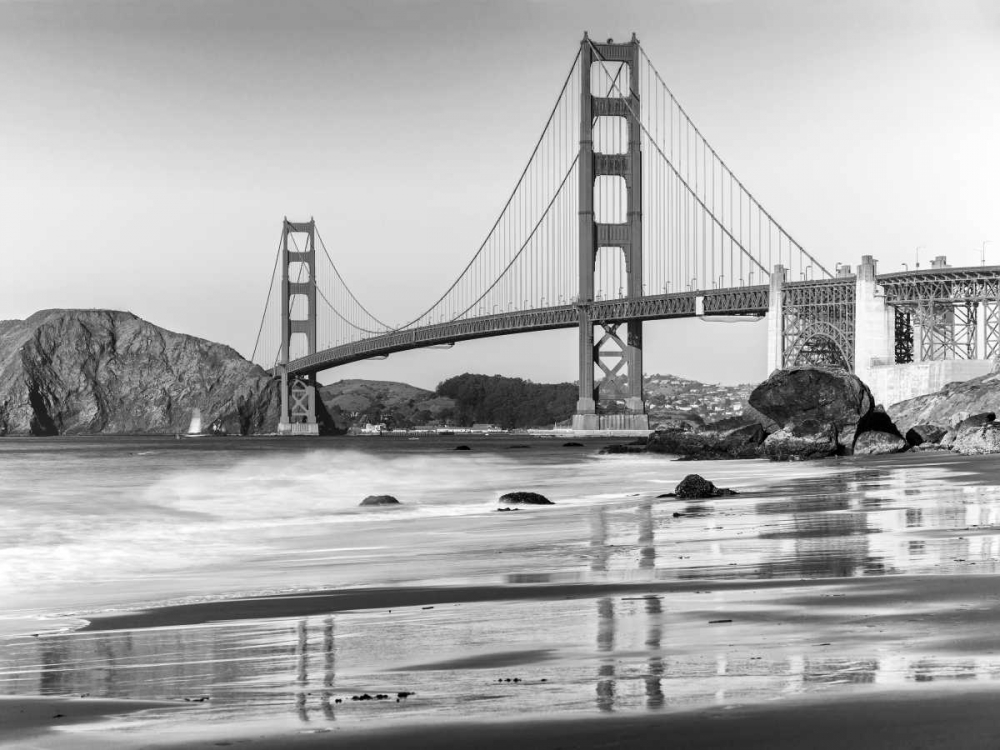 Baker beach and Golden Gate Bridge, San Francisco Anonymous 118050