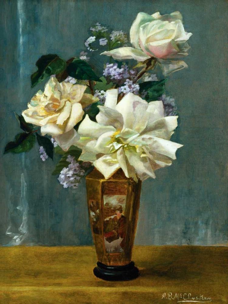 Still Life of Roses in an Oriental Vase Binford McCloskey, Alberta 164243