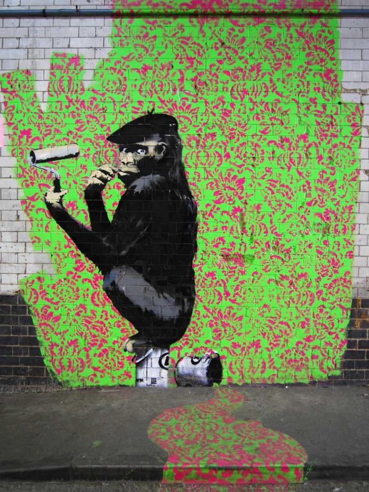 Leake Street London-graffiti attributed to Banksy Anonymous 44170
