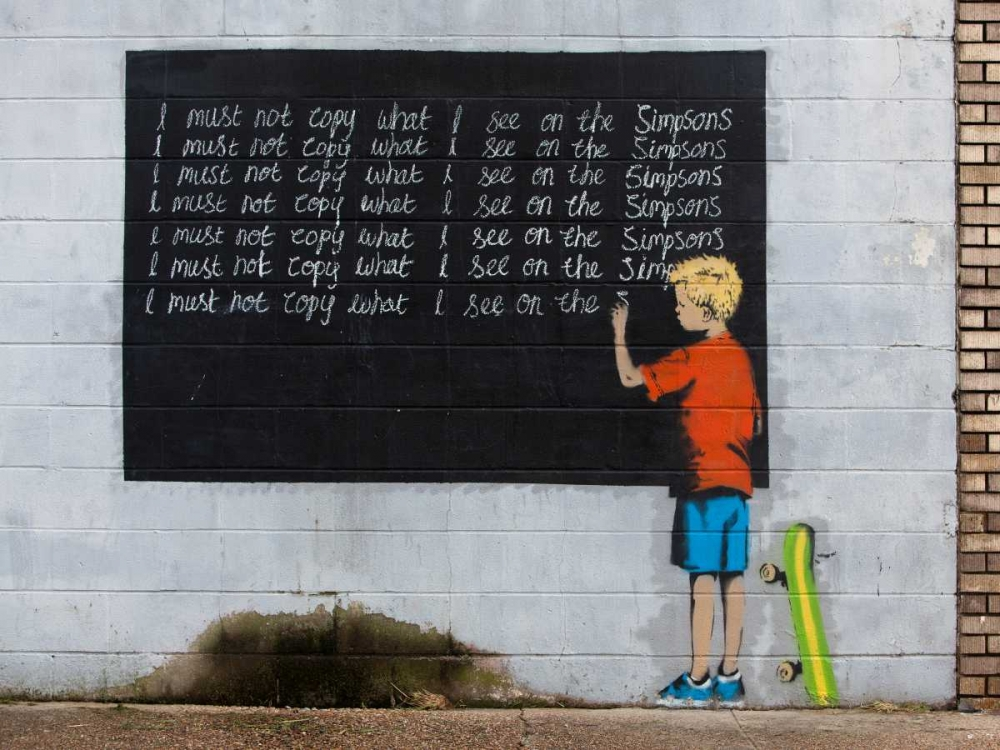 New Orleans-graffiti attributed to Banksy Anonymous 44171