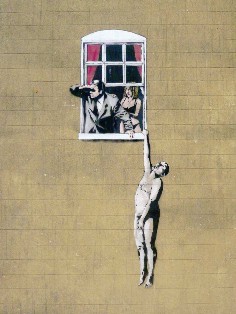 Park Street, Bristol (graffiti attributed to Banksy) Anonymous (attributed to Banksy) 162732