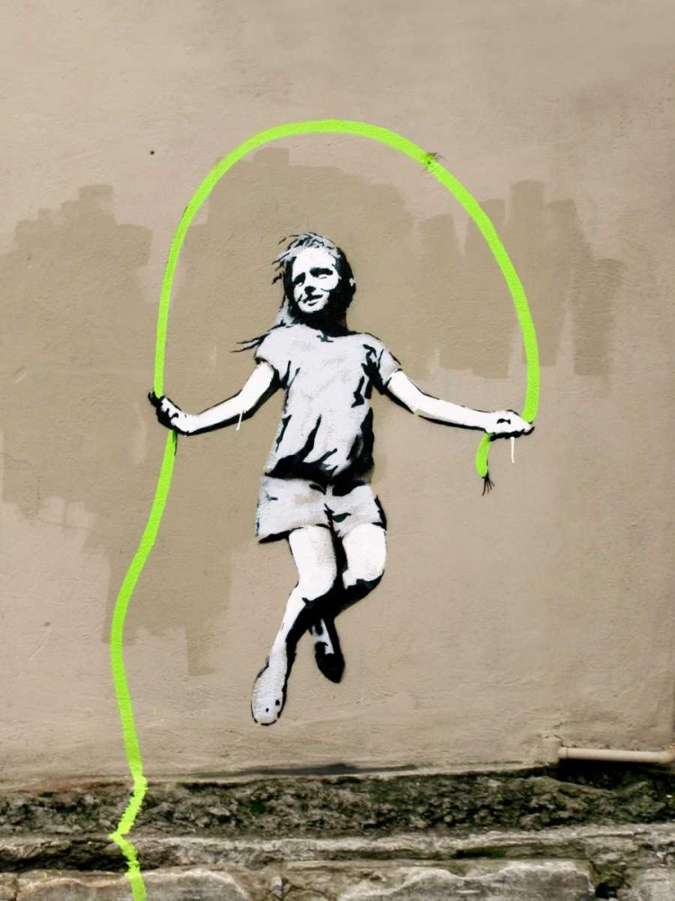 Girl Anonymous (attributed to Banksy) 162739