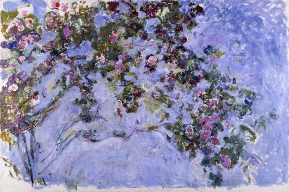 Les roses Monet, Claude 43859