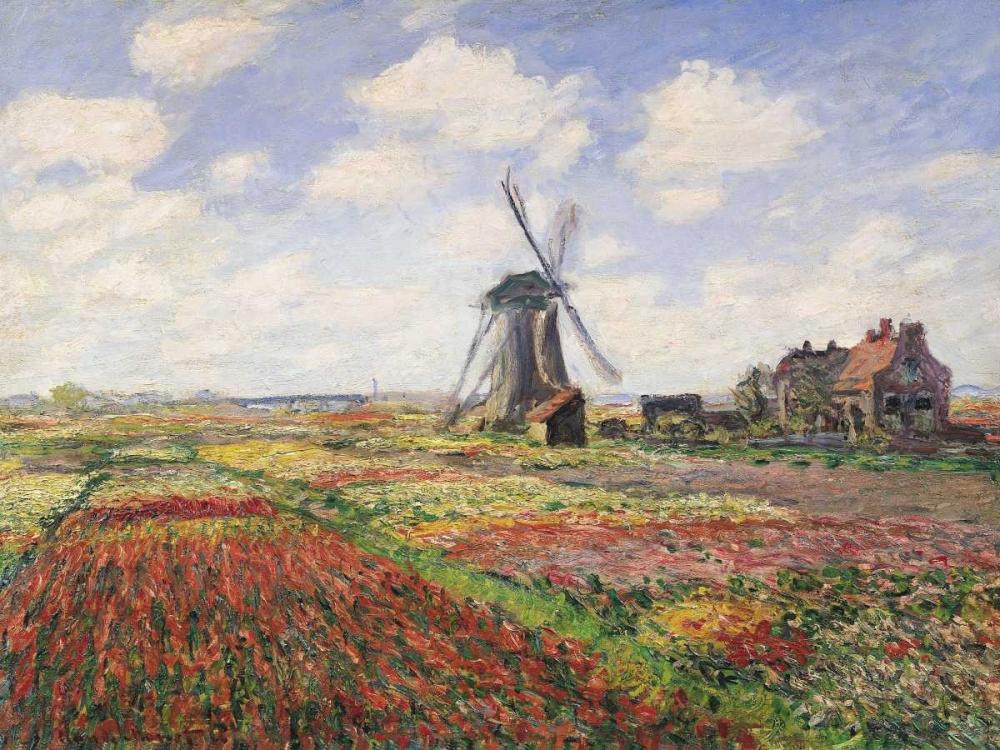 Tulip Fields with Windmill Monet, Claude 43879