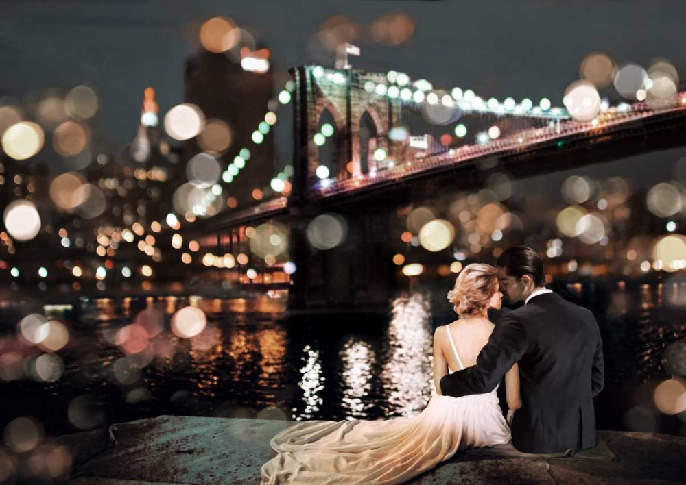 Kissing in a NY Night Loumer, Dianne 149056