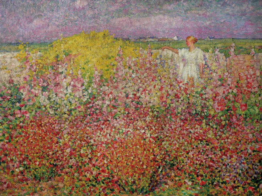 Amongst the Flowers at Belle Isle Russell, John Peter 162916