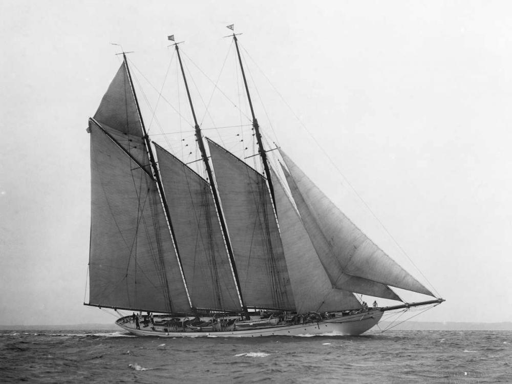 The Schooner Karina at Sail 1919 Levick, Edwin 43681