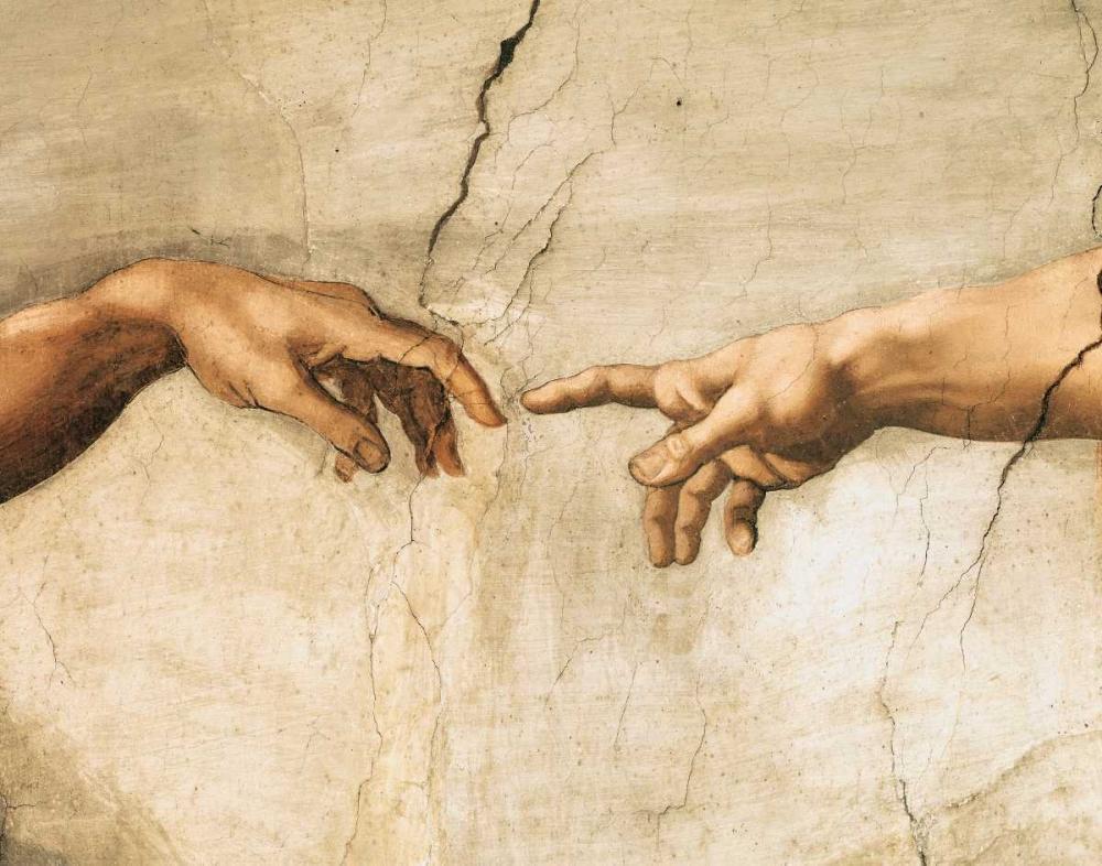 La creazione di Adamo (detail) Buonarroti, Michelangelo 118128