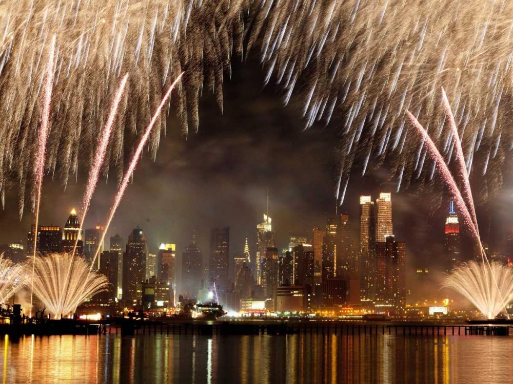 Fireworks on Manhattan, NYC Setboun, Michel 118135