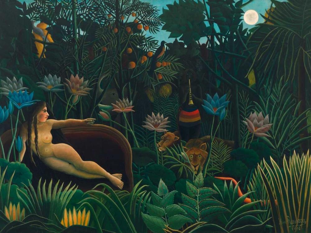 The Dream Rousseau, Henri  64876