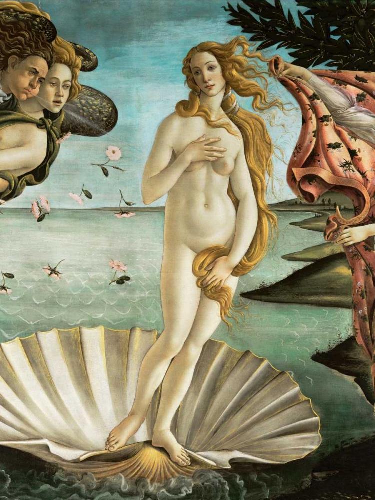 La nascita di Venere (detail) Botticelli, Sandro 162764