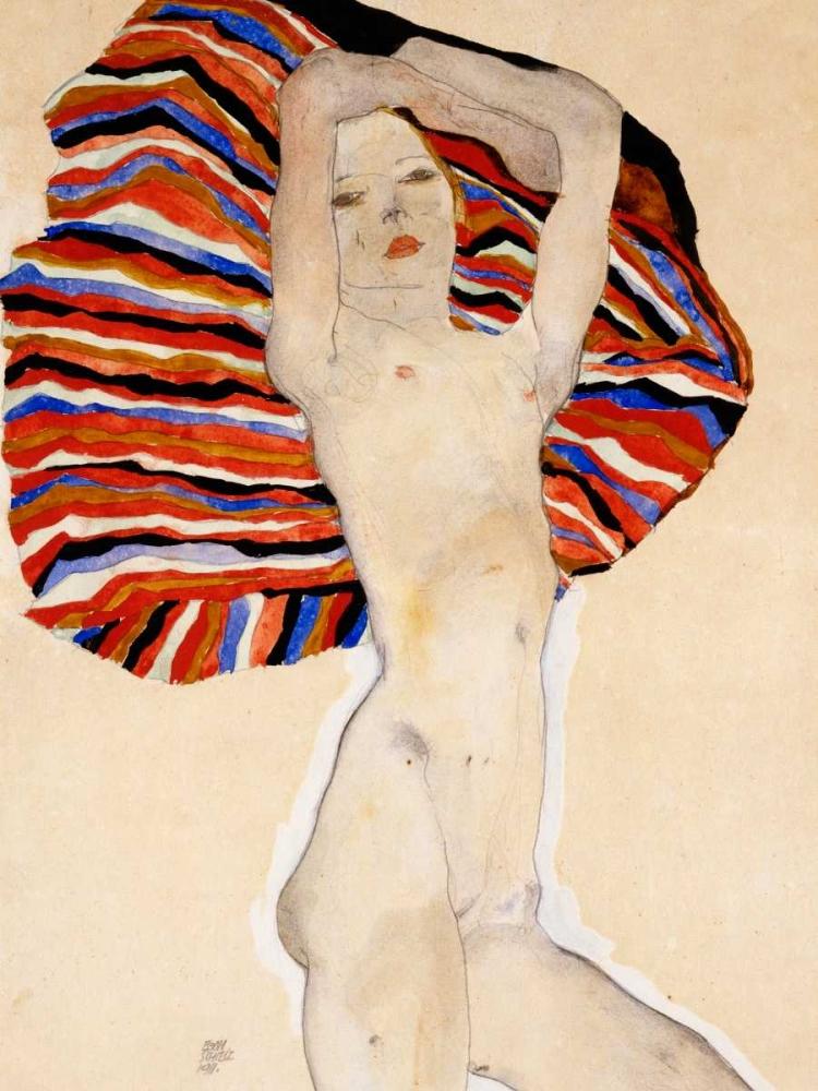 Nude Woman Schiele, Egon 162924