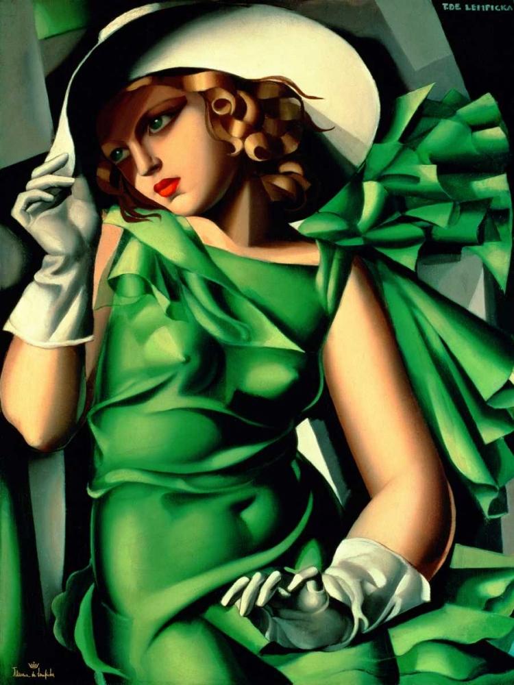 Jeune fille aux gants de Lempicka, Tamara 44235