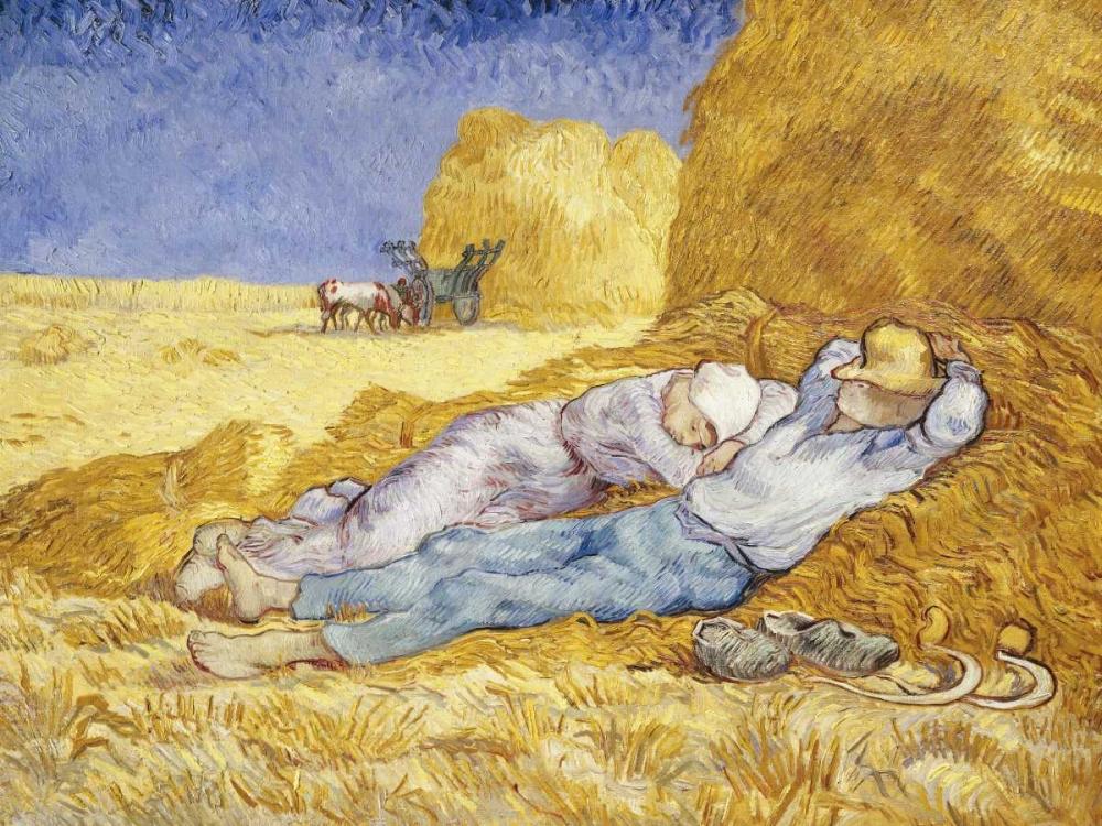 Noon- Rest Van Gogh, Vincent 43907