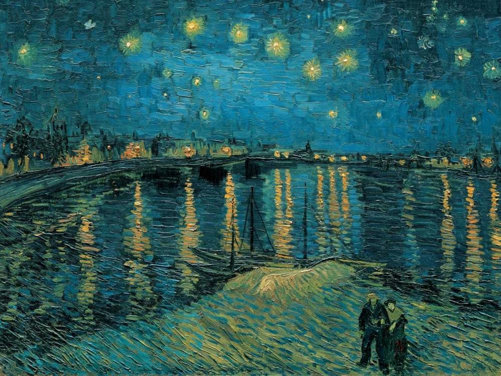 The Starry Night Van Gogh, Vincent 43899