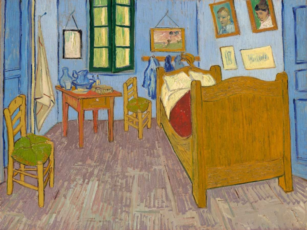 Van Goghs Bedroom at Arles Van Gogh, Vincent 43929