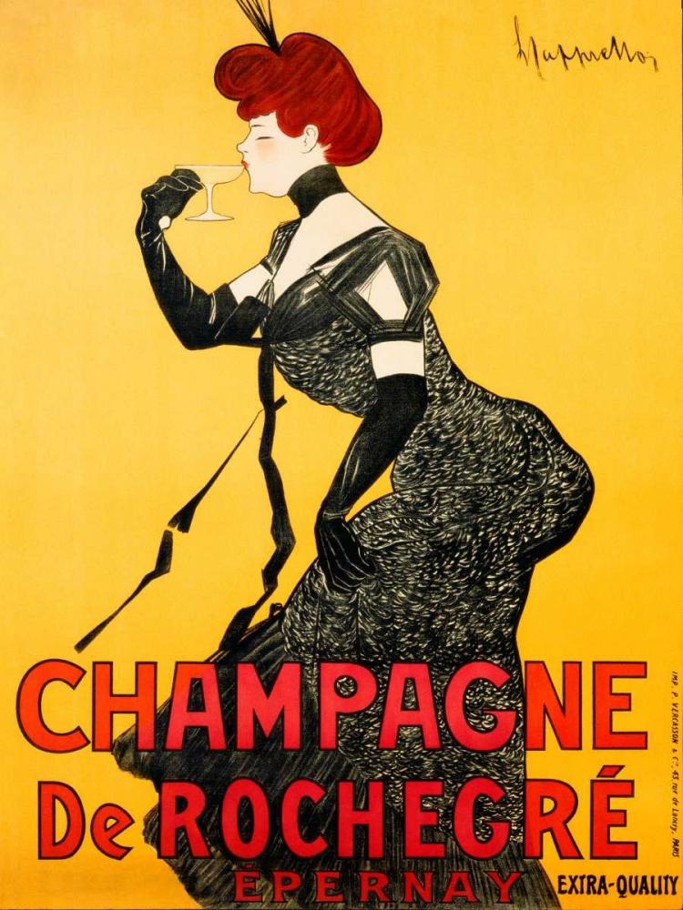 Champagne de Rochegre ca. 1902 Cappiello, Leonetto 43480