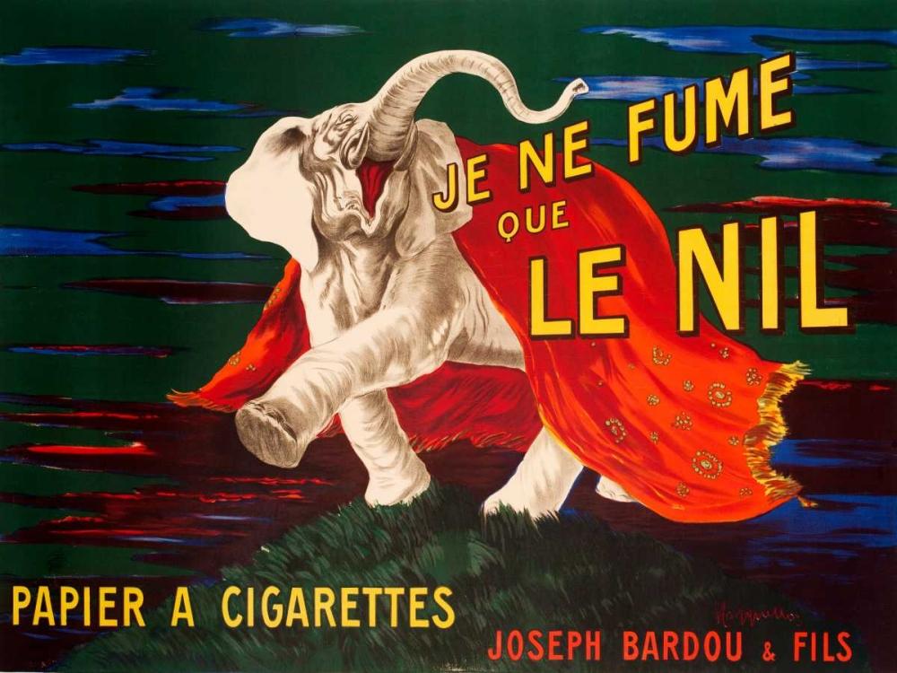 Je ne fume que Le Nil 1912 Cappiello, Leonetto 44249