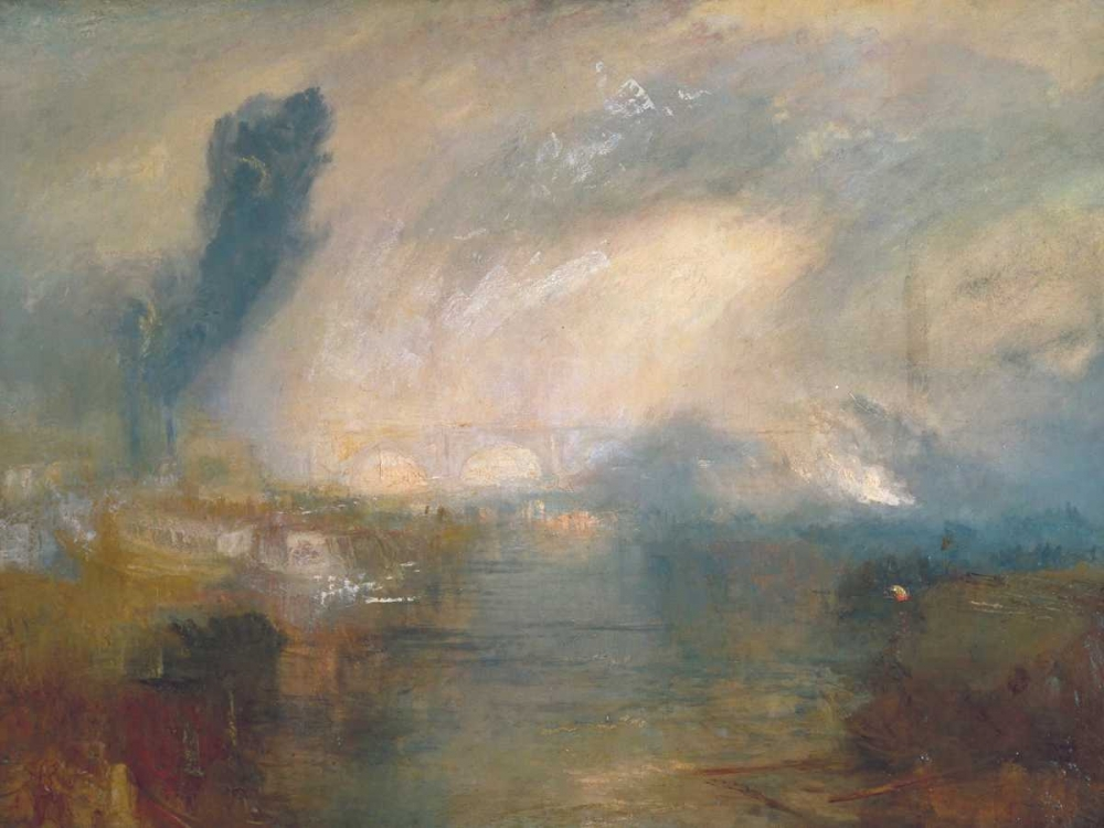 The Thames above Waterloo Bridge Turner, William  64880