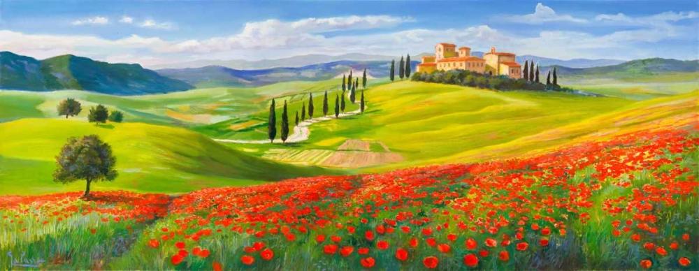 Verso il borgo in Toscana Galasso, Adriano 65038
