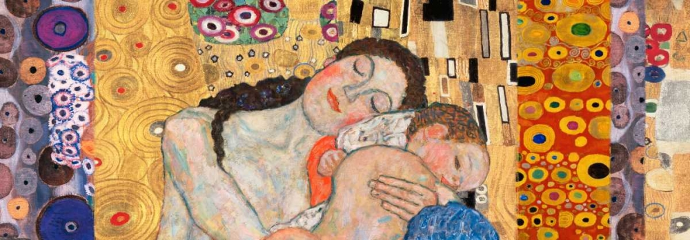 Deco Panel-Death and Life Klimt, Gustav 43992