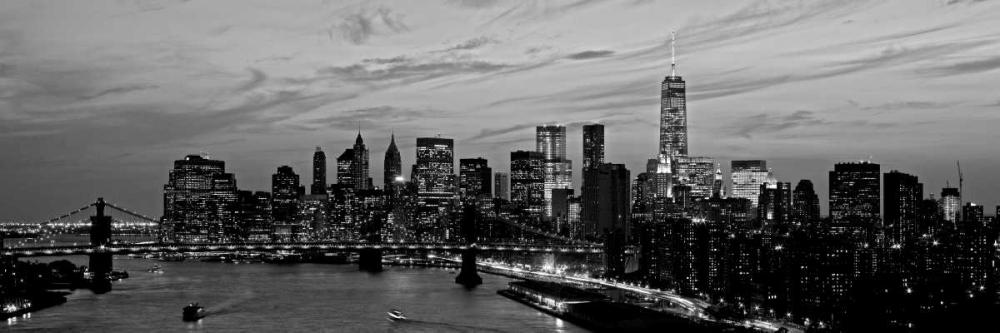 Lower Manhattan at dusk Berenholtz, Richard 47949