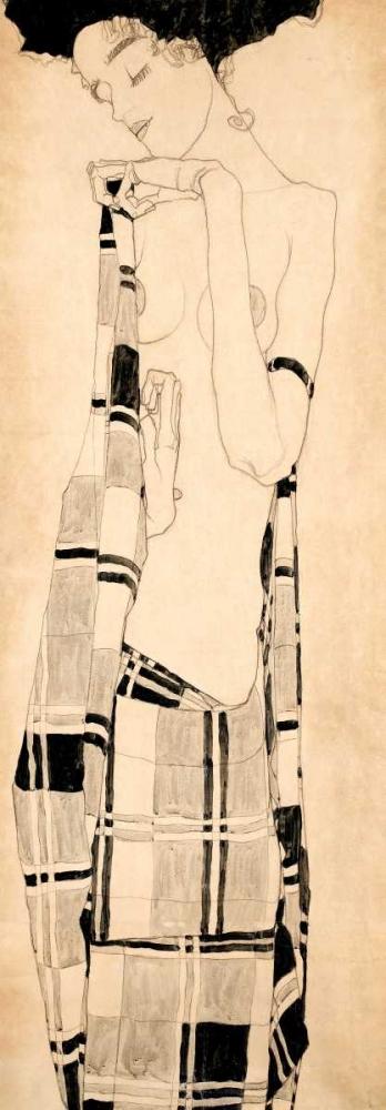 Standing Girl Schiele, Egon 44298