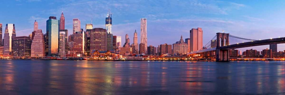 Manhattan and Brooklyn Bridge, NYC Ratsenskiy, Vadim 118249