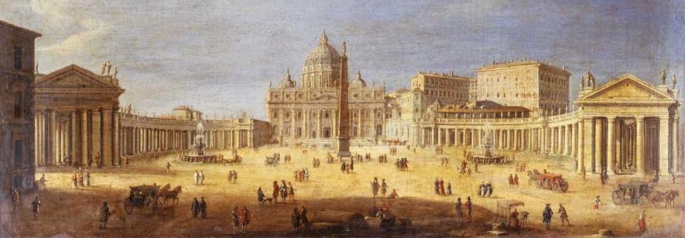 Piazza San Pietro Rome van Wittel, Gaspar 44025