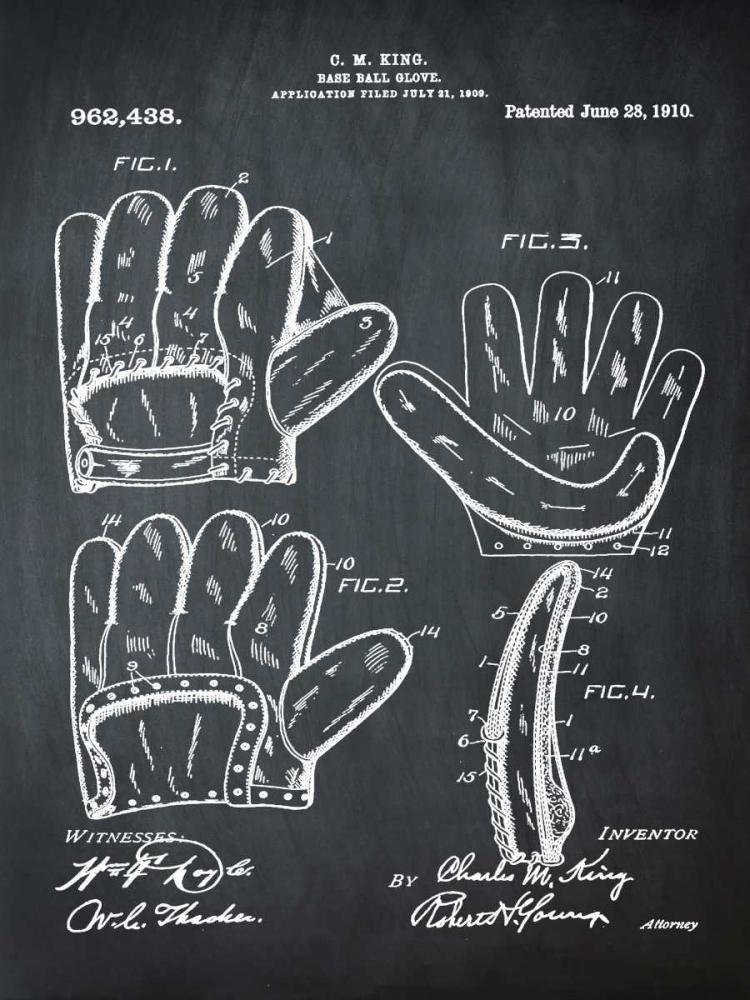 Baseball Glove - 1909-Chalk Boa Cannon, Bill 124848