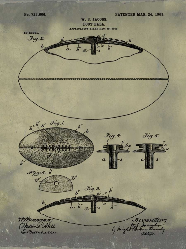 Football - 1903-Antique II Cannon, Bill 124892