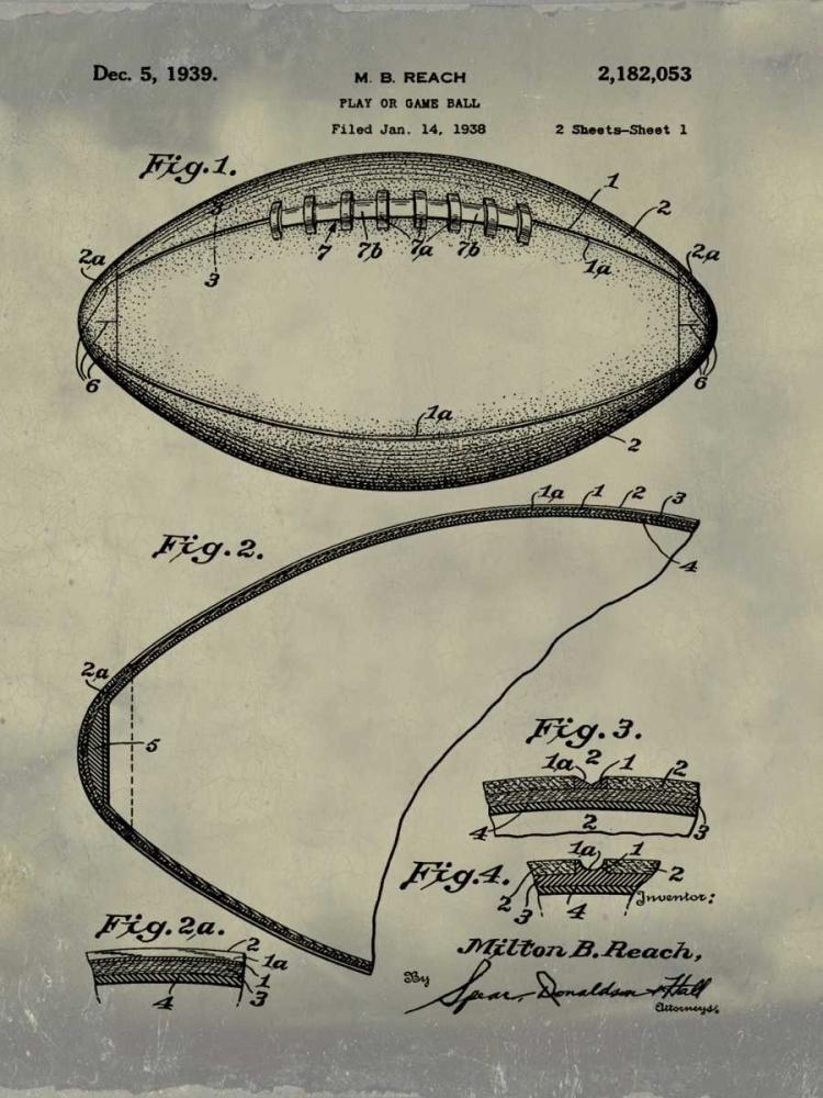 Football - 1938-Antique II Cannon, Bill 124898